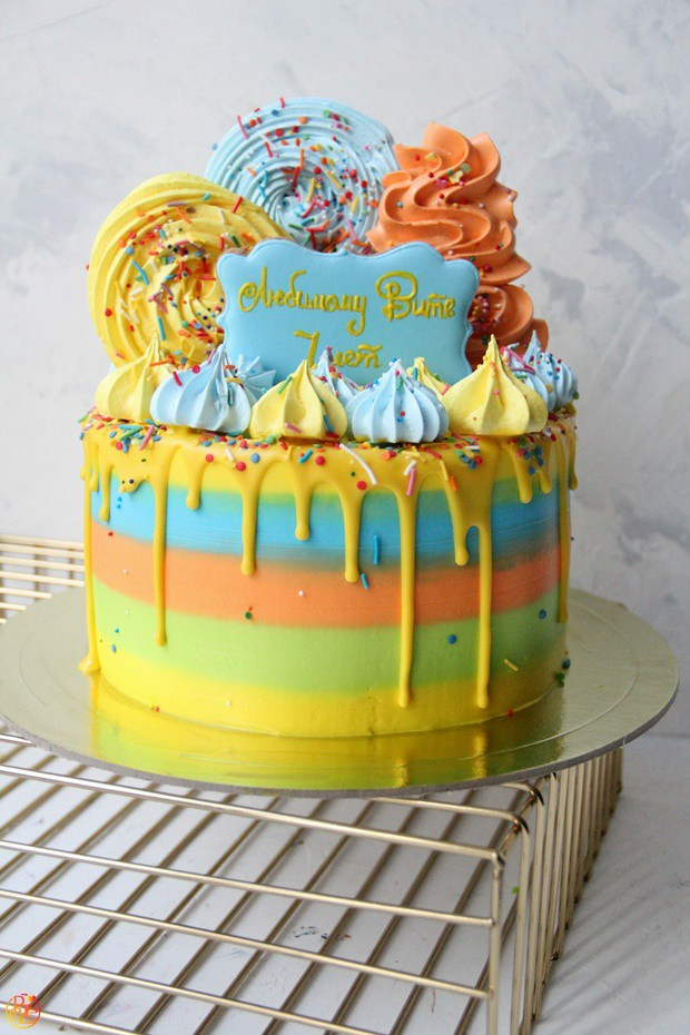 Торт детский апельсинка