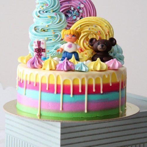 Торт Маша и Миша