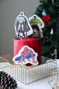 Торт Super Heroes