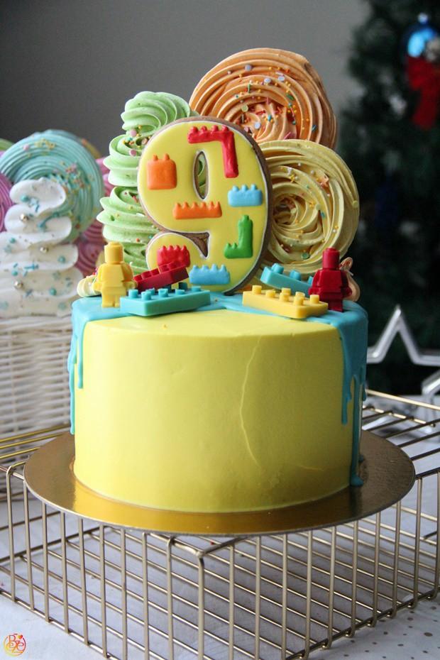 Торт 9 лет