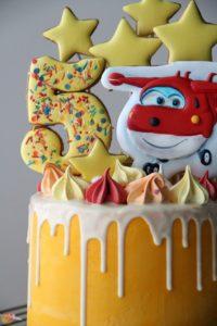 Торт Приключения Красного Самолётика