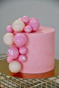 Торт Bubble