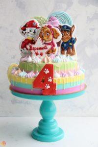 Торт детский щенячий патруль