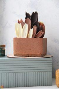 Торт шоколадный фонтан