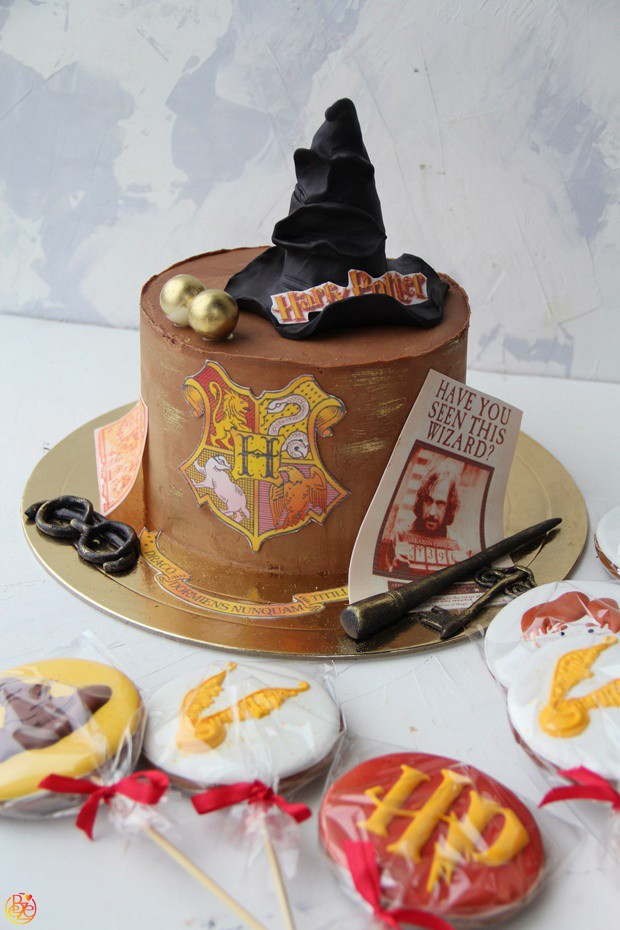 Торт Harry Potter