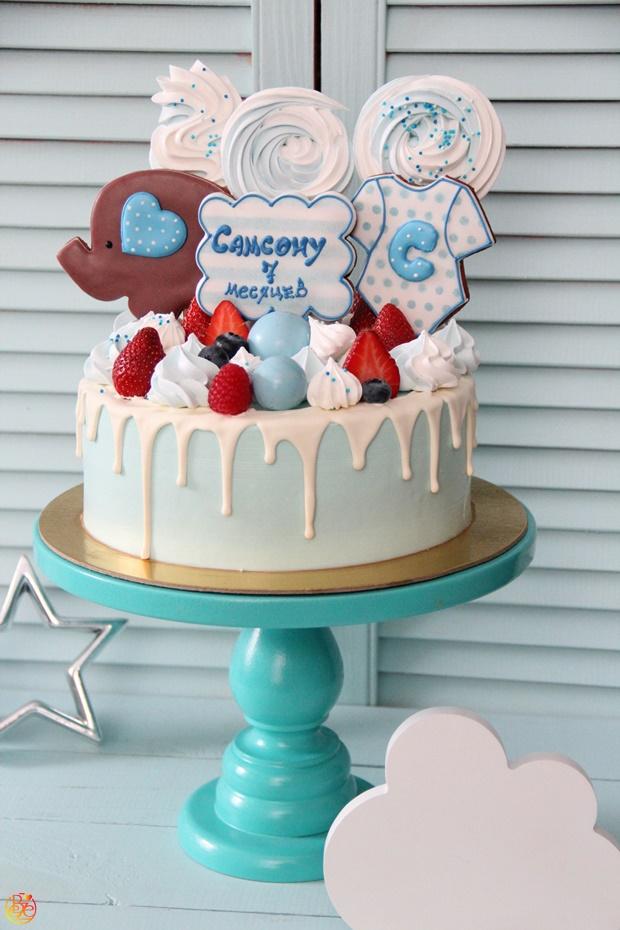 Торт 7 месяцев