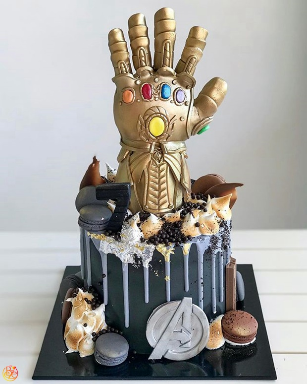 Торт Thanos  Торт Thanos