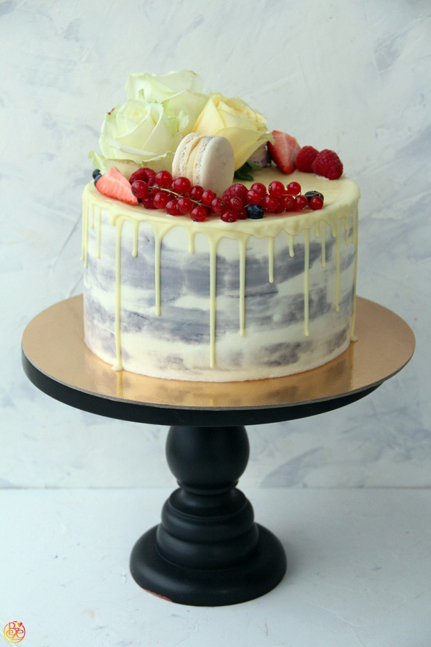Торт Cream cranberries