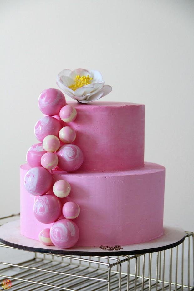 Торт Bubble 2