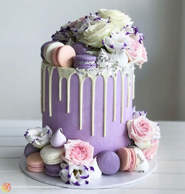 Торт Purple chocolate