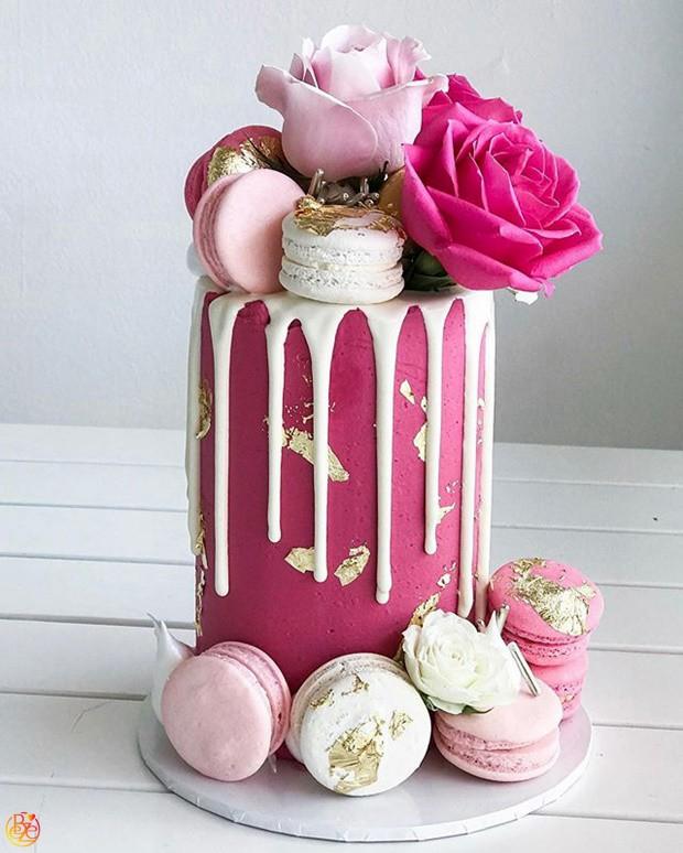 Торт Pink gold