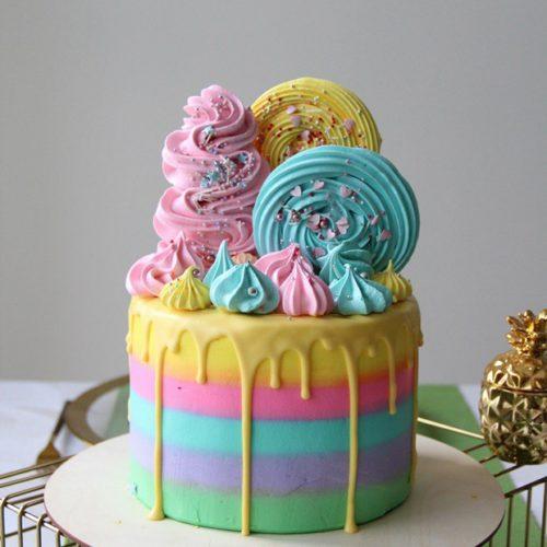 Торт детский зефирка