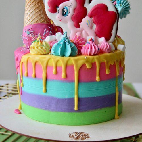 Торт детский my little pony