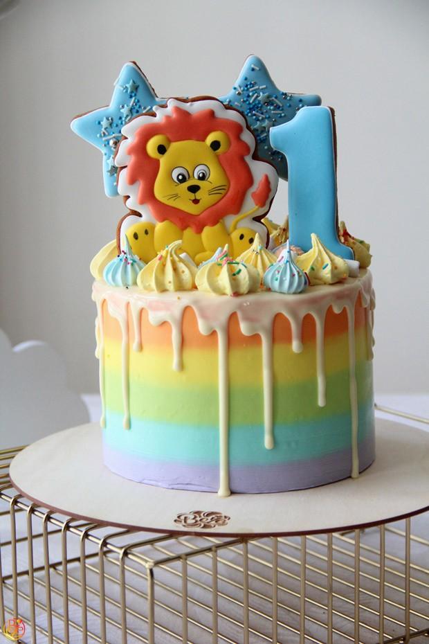 Торт детский Львёнок| Торт детский Львёнок