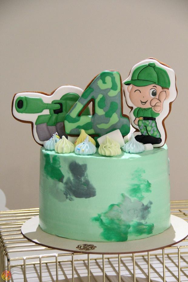 Торт детский tanker