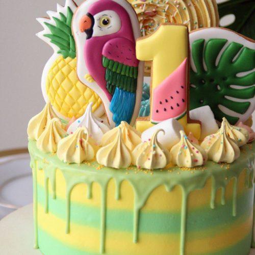 Торт детский экзотичный