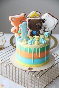Торт детский Ми-ми-мишки