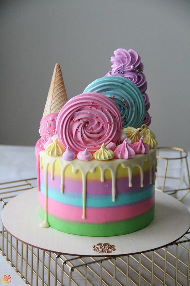 Торт детский спиралька