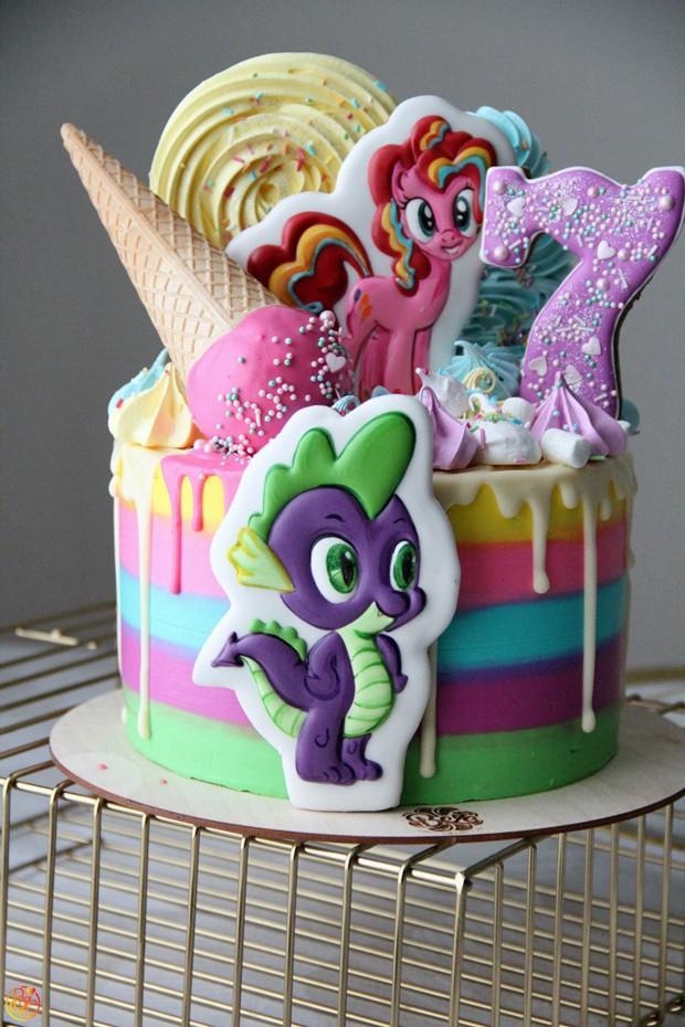 Торт детский my little pony| Торт детский my little pony