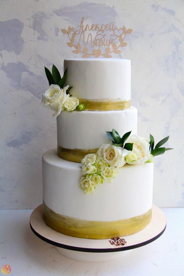 Торт Свадебный Идеальный 2