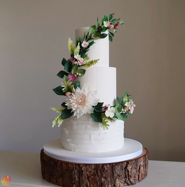 Торт свадебный Рапунцель