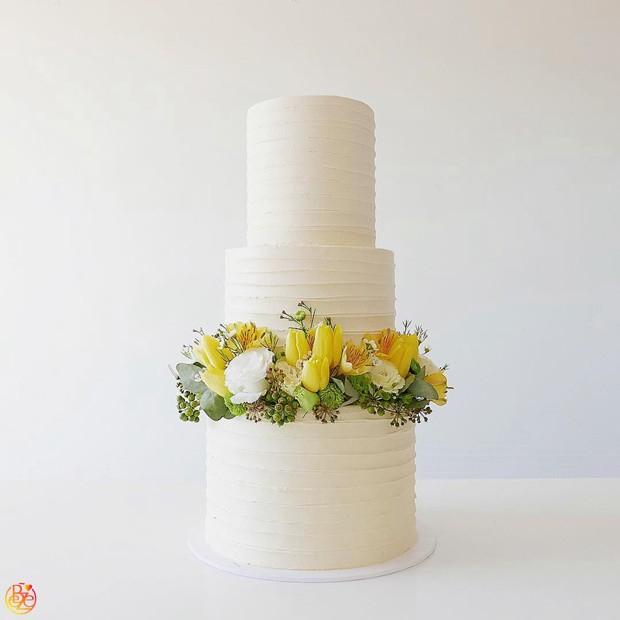 Торт свадебный Луиза