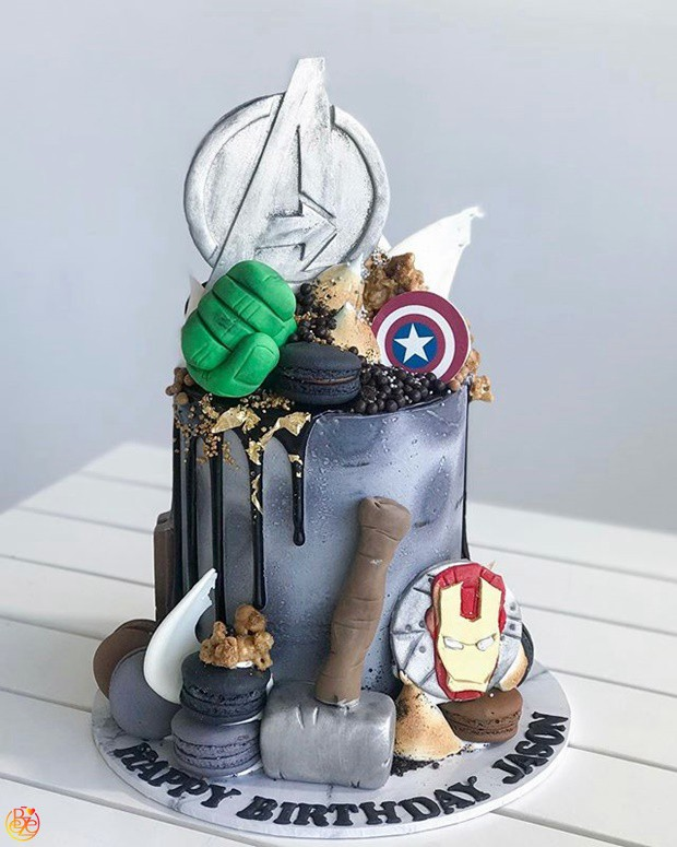 Торт Мстители