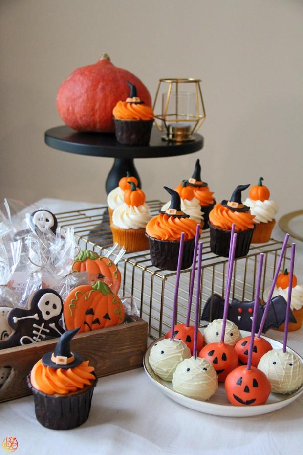 Candy bar в стиле Halloween