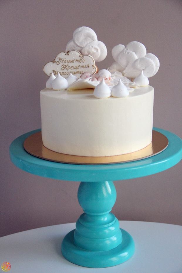 Торт на крестины Angelic song