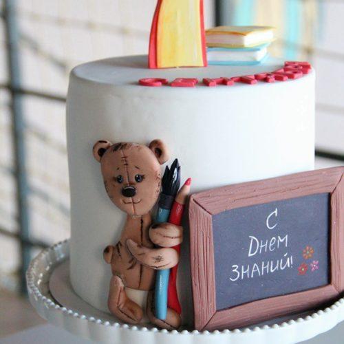 Торт для первоклассника