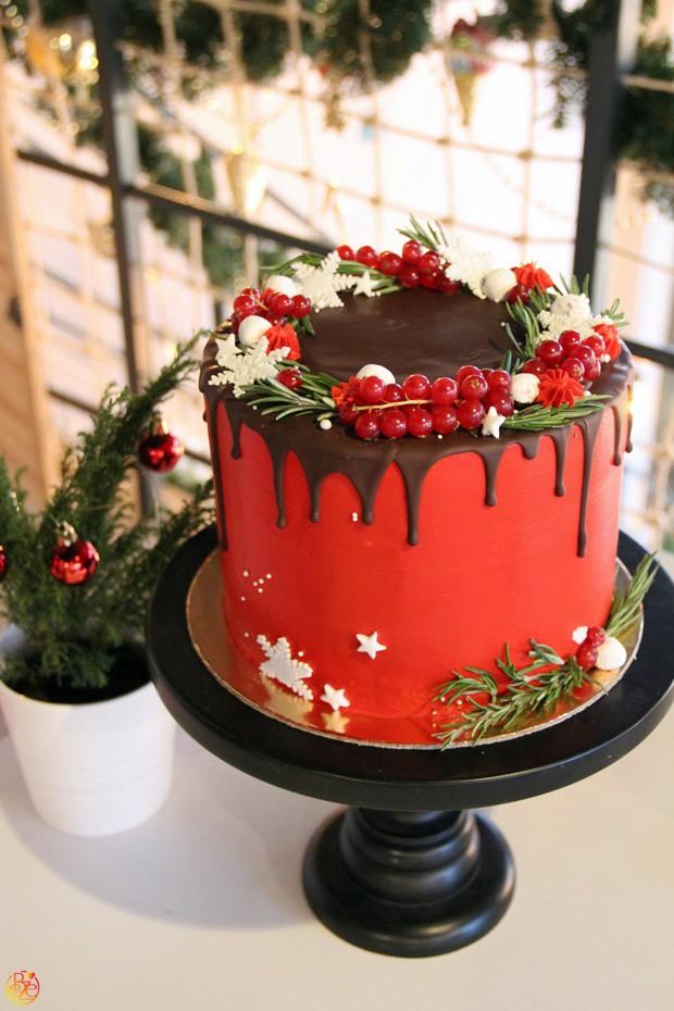 Торт red Christmas