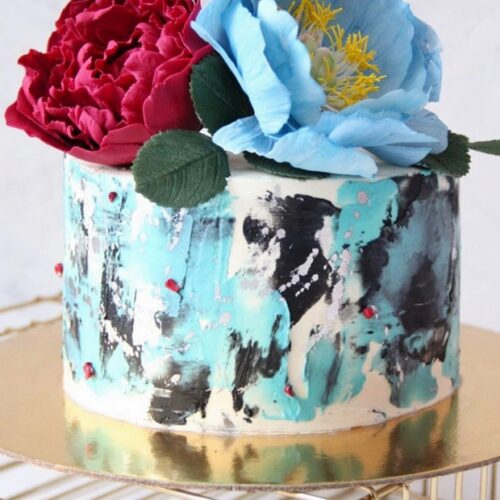 Маленькие торты на день рождения