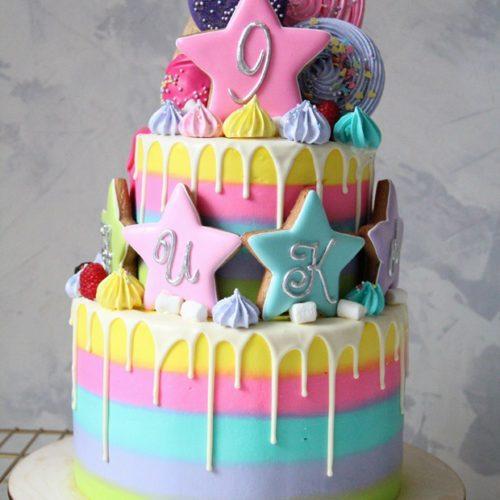 Торт для двух именинников
