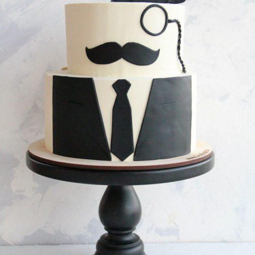 Торт на день рождения для мужчины