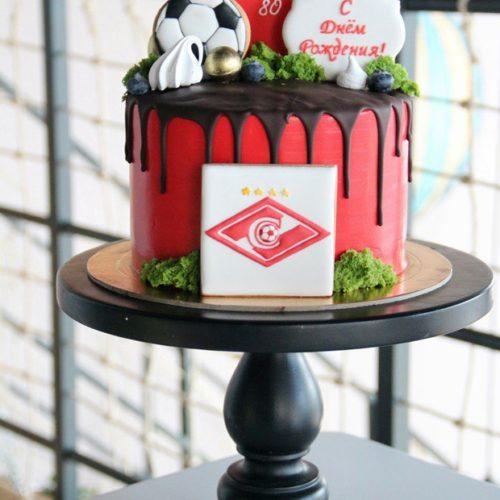 Торт на день рождения для спортсмена