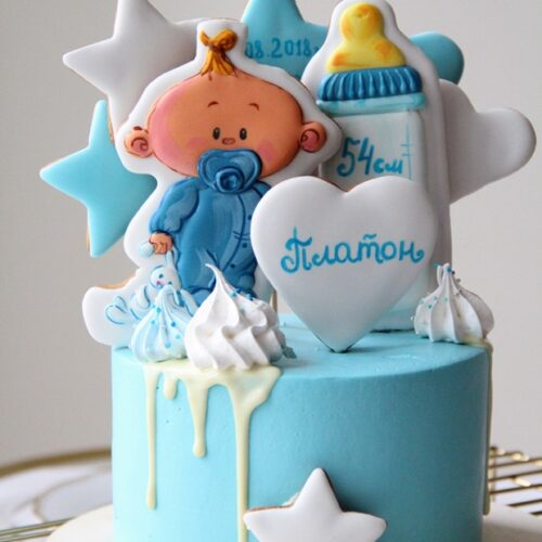 Торт на рождение ребенка