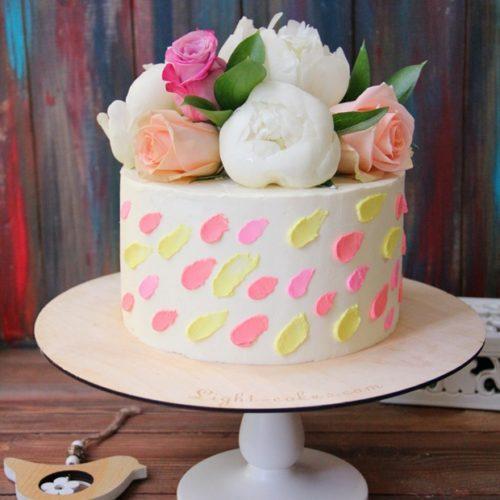 Недорогие свадебные торты